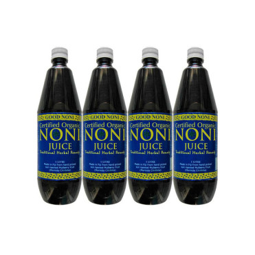 4 botellas zumo noni Goodnoni